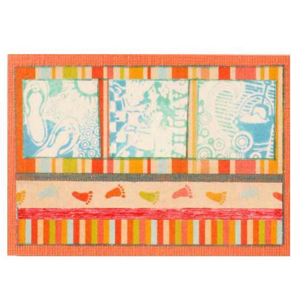 Hawaiian Theme Art Card