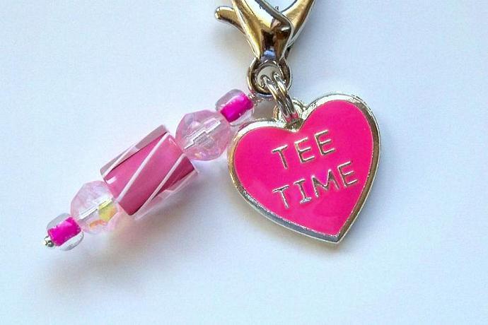 Zipper Pull - Tee Time