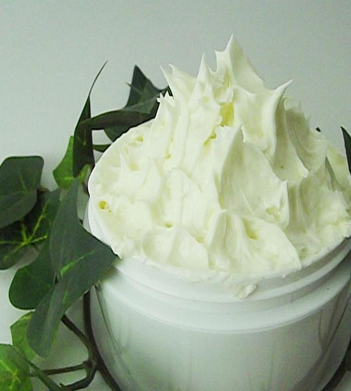 Lavender Rosemary Body Butter Whipped Shea Butter Essential Oils 4oz