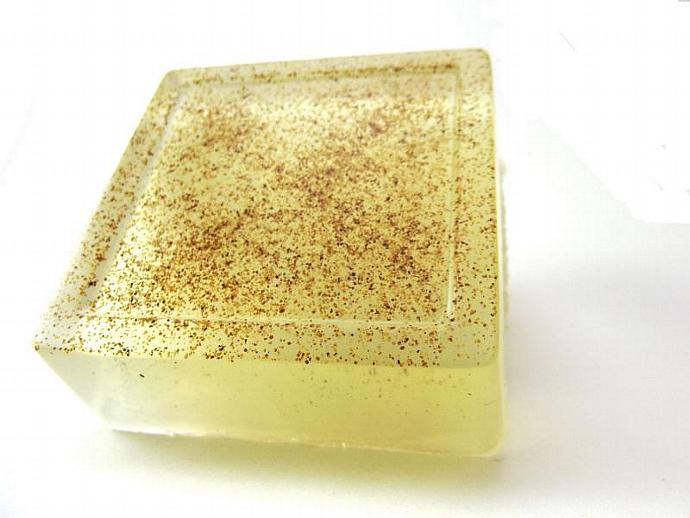 Apricot Scented Aloe Vera Soap with Apricot Seeds Exfoliating 4oz