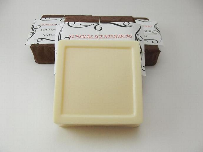 Dry Skin Relief Cocoa Butter Soap - Essential Oil Blend - 4oz - All Natural
