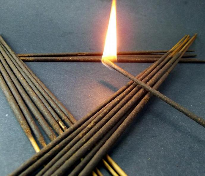 20 Incense Sticks - Peaches Cream - Double Dipped, Highly Fragrant