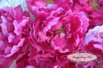 Sassy steal 100 small fab fuschia by simplysassysource on zibbet sassy steal 100 small fab fuschia peony silk flower diy hair clips mightylinksfo