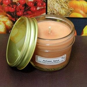 Autumn Spice PURE SOY 4 oz. Jelly Jar Candle