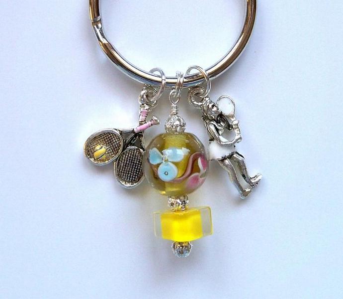 Purse Jewelry - Tennis Player/Racquet
