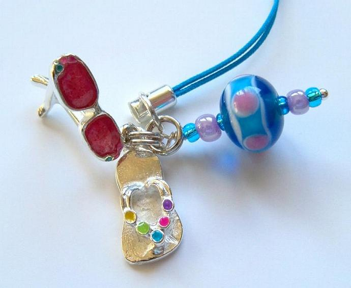 Cell Phone Jewelry - Beach