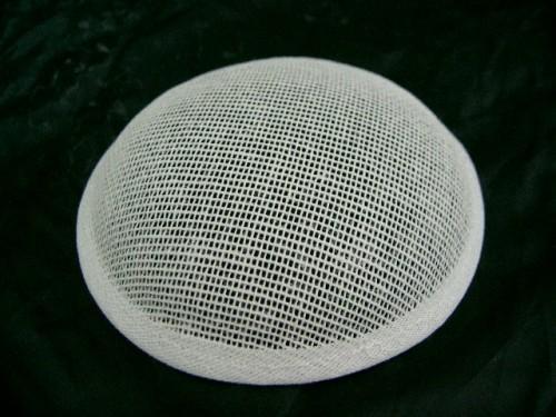 White Buckram Cupula Millinery Hat Frame