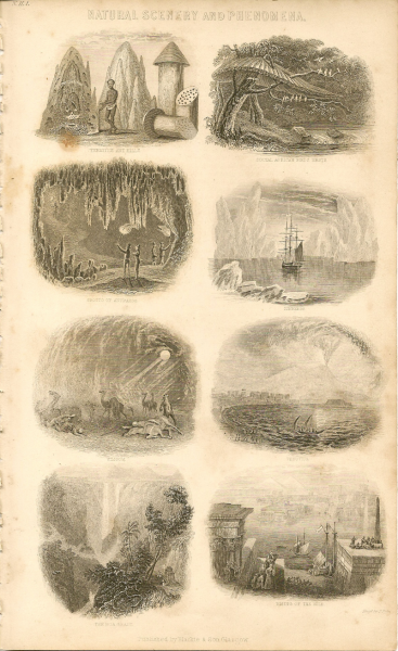 Natural Scenery and Geological Phenomena 1858 Oliver Goldsmith Natural History