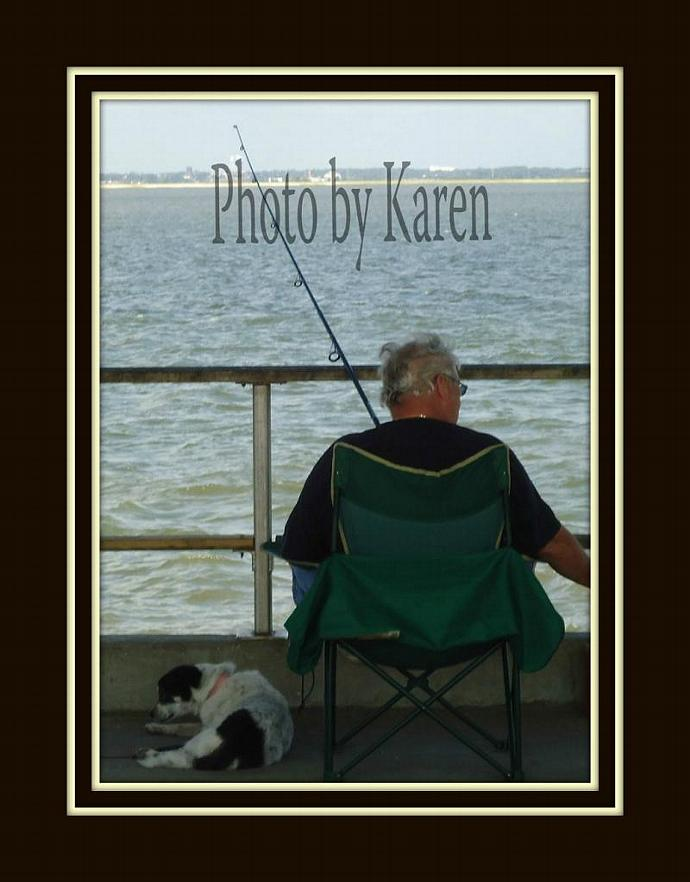A Man and His Dog 5 x 7 Original Photograph, other sizes available
