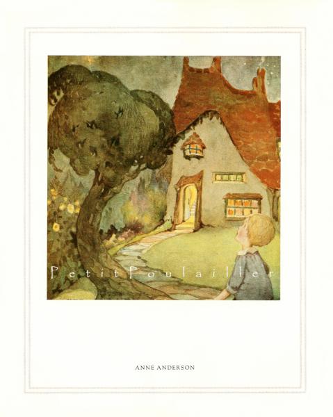Hansel, Gretel, Georgie Porgie 1983 Anne Anderson and Margaret Tarrant Fairy