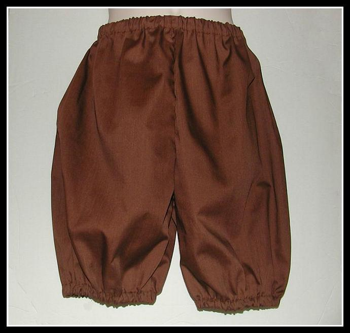 Youth Costume Britches in Various Colors