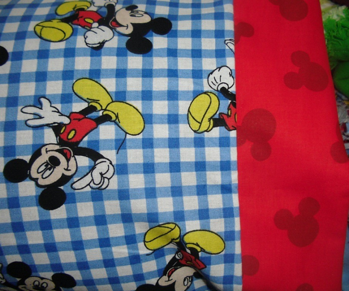 NEW MICKEY MOUSE Kids / Travel Pillowcase