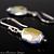 Northern Lights Graphic Swarovski Crystal Earrings