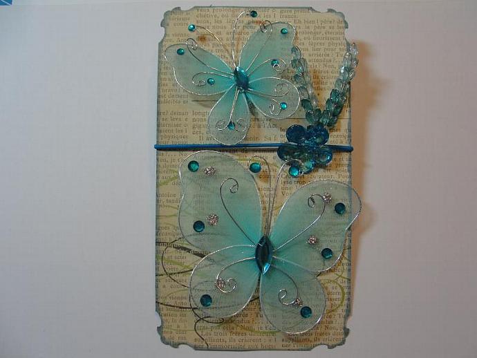 Beautiful Blue Butterfly Ensemble