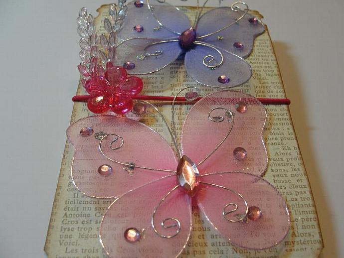 Pretty in Pink & Purple Butterfly Ensemble