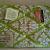 "Pin Boards/Notice Boards/Memo/ ""Green Damask"""
