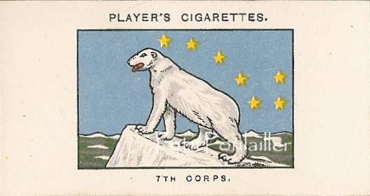 World War I Army Corps Signs Trading Cards 1924 Antique John Player and Sons