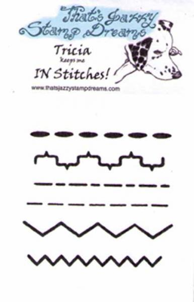 In Stitches clear stamps