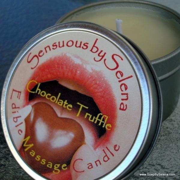 EDIBLE Massage Candle - Chocolate Truffle