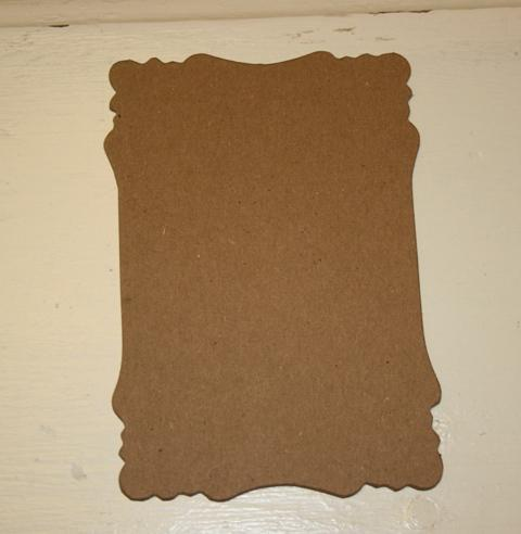 6 small  Chipboard victorian mats to make mini albums  M17
