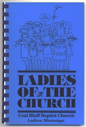 Cookbook Ludlow Mississippi Church Community 1991 Recipes