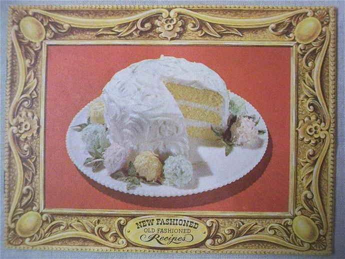 Cookbook New Fashioned Old Fashioned Recipes Book 1940s Cook Book