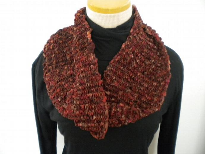 Browntones Circle Scarf