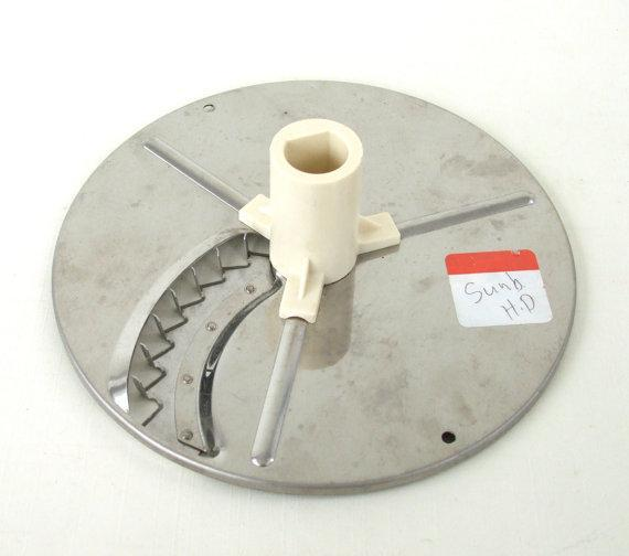 Sunbeam Food Processor 14031 Replacement Part French Fry Disk 7-Speed Heavy Duty