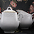 Creamer and Covered Sugar Bowl Set 1975 Vintage Vista Alegre Portugal 'Manueline
