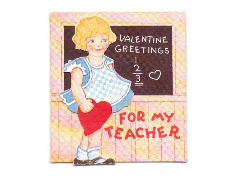 Vintage Valentine Card Vintage By Sandycreekcollectables On Zibbet