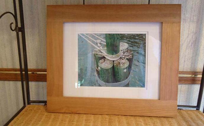 No Wishes Wood Framed and Ivory Matted Original Photograph