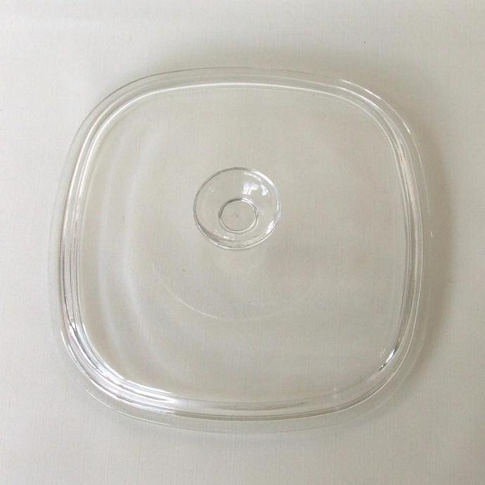 Corning Ware Lid Pyrex 24 A9C for Casserole Dish Clear Glass (as-is)