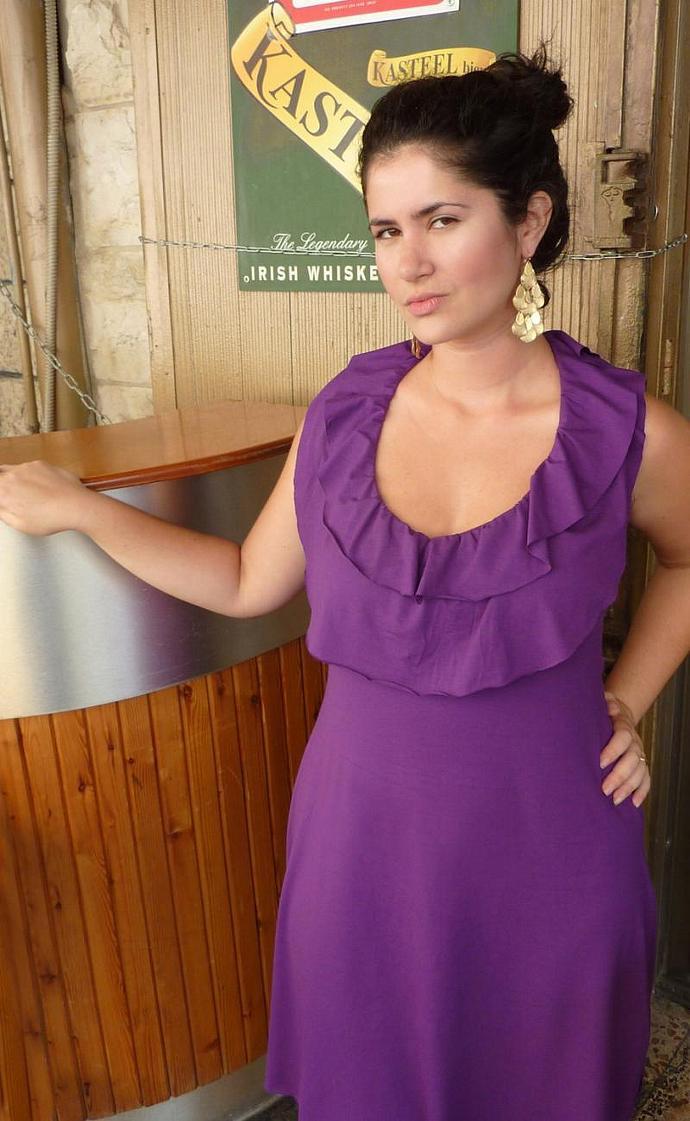 Twilight inspired ruffled dress