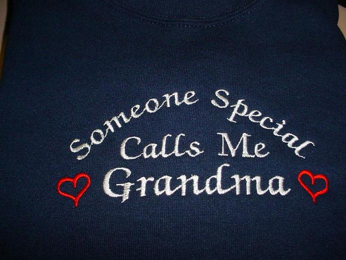Someone Special Calls Me Grandma Sweatshirt
