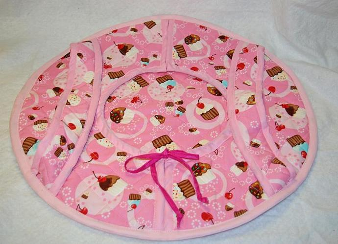 Pink Cupcakes Casserole Carrier