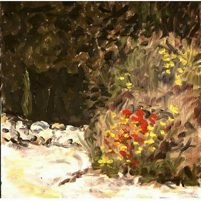 Pieve Stones (An Original Oil Plein Air Landscape)