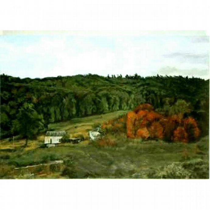 Falling (An Original Landscape Painting)