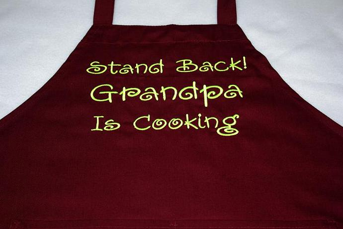 Grandpa Is Cooking Apron