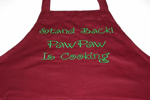Stand Back PawPaw Is Cooking Apron