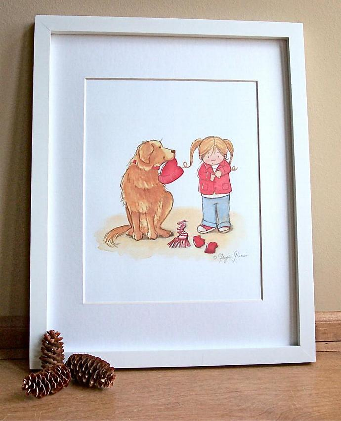 Children's Art Print for Nursery or children's room decor