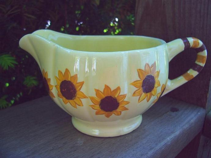 Sunflower Creamer