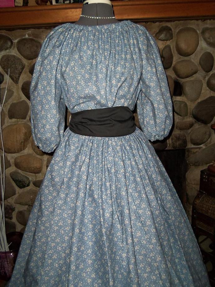 Ladies Civil War Pioneer Prairie Victorian by theaterwear on Zibbet