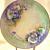 LaViolette Limoges Porcelain Charger or Art Plate 1900 La Belle Epoque Antique