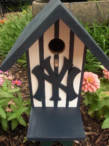 Birdhouse - New York Yankees by ABCbirdhouses
