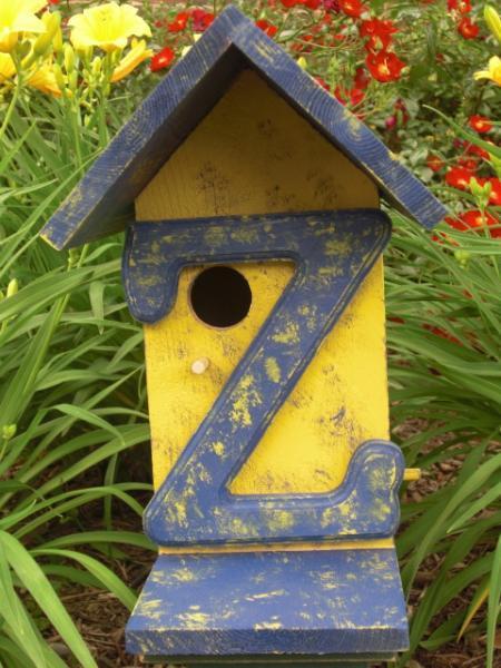 """Birdhouse - """"Z"""""""