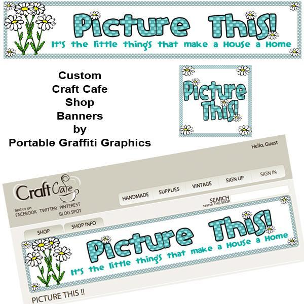 Custom Craft Cafe Banner & Avatar