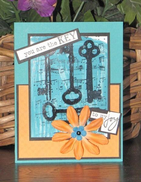 You are the key to my joy -  Greeting Card