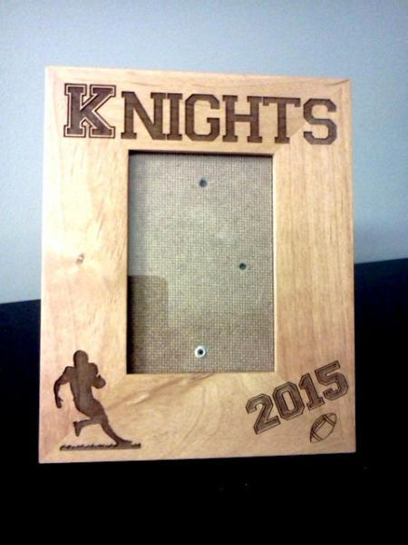 Custom Laser Engraved 3.5 x 5 Photo Frame- Personalized