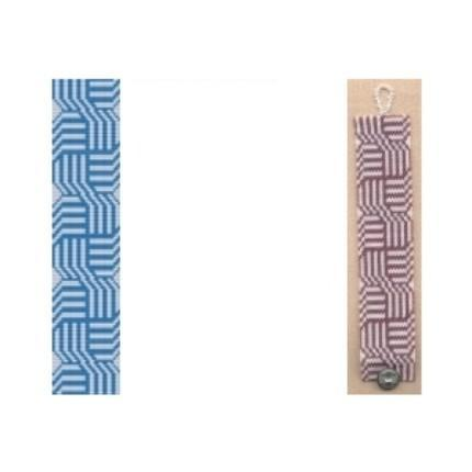 2 Loom Bead Patterns - Celtic Knots Cuff Bracelets - 2 Colors For 1 Price