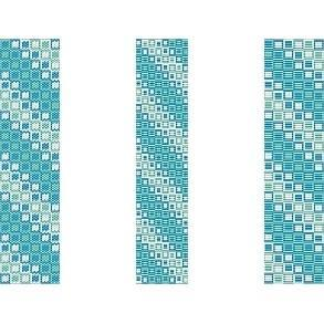 3 Peyote Bead Patterns For Price Of 1  - Oceans Squared Cuff Bracelets